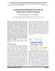 Location Based Routing Protocols for Underwater Sensor Networks