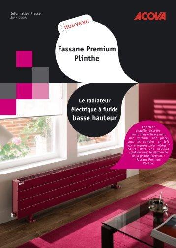 Fassane Premium Plinthe - Climamaison