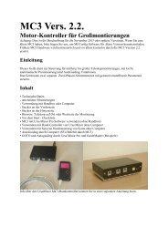 MC3 Motor-Kontroller für Großmontierungen - Teleskop-Austria