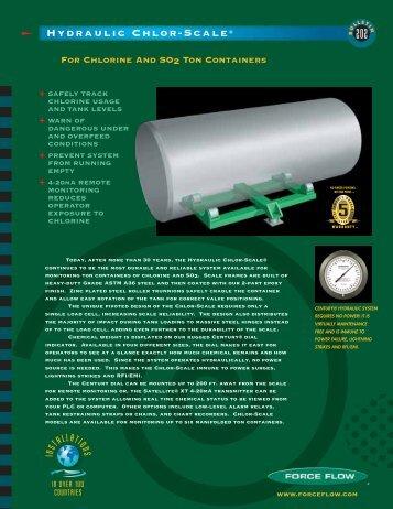 Hydraulic Chlor-Scale® - Global Treat, Inc.