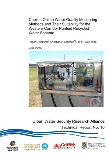 Current online water quality monitoring methods and their suitability ...