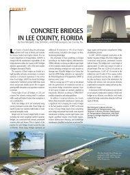 Lee County, Florida - Aspire - The Concrete Bridge Magazine