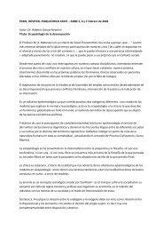 Dr. Roberto García Novarini Titulo: Sicopatología