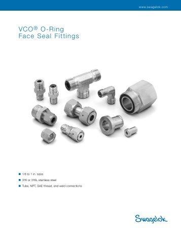 VCO® O-Ring Face Seal Fittings (MS-01-28;rev_8;en-US) - Swagelok