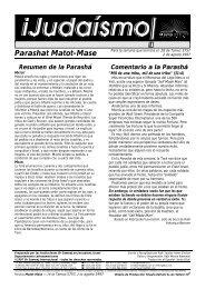 Parashat Matot-Mase - Ohr Somayach
