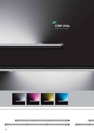 strip oval led