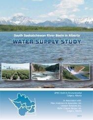 South Saskatchewan River Basin in Alberta Water Supply Study