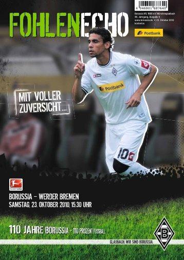 Bremen / Leverkusen - Borussia Mönchengladbach