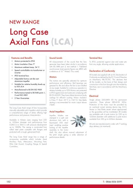 Catalogue Pages - Vent-Axia