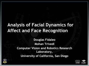 Analysis of Facial Dynamics for Gesture Event Detection - Computer ...