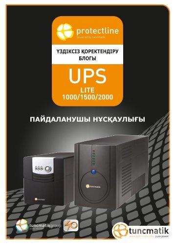 LITE 1000/1500/2000 - Tuncmatik