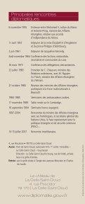 Le château de La Celle - France-Diplomatie-Ministère des Affaires ... - Page 4