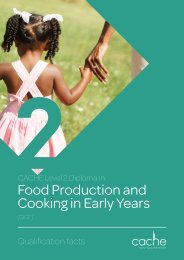 Level 2 Diploma in Food Production and Cooking in early Years 4 spet Web Ready