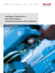 Intelligent Hydraulics in New Dimensions. Industrial Hydraulics From ...