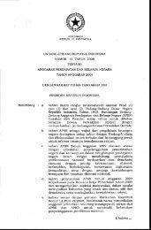 Anggaran Pendapatan dan Belanja Negara Tahun Anggaran 2009