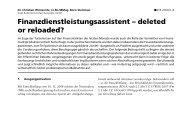 Finanzdienstleistungsassistent - Wirtschaftskammer Österreich