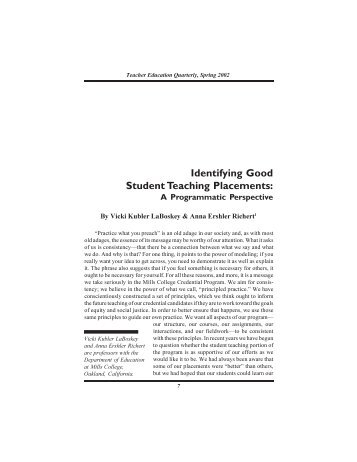 reflective journal on roles and responsibilities of teacher The roles and responsibilities of college and university faculty members are closely tied to the central functions of higher education in this construction of the teaching role, the teacher is the content expert, and students are regarded as learners or novices to the academic discipline or field of study.