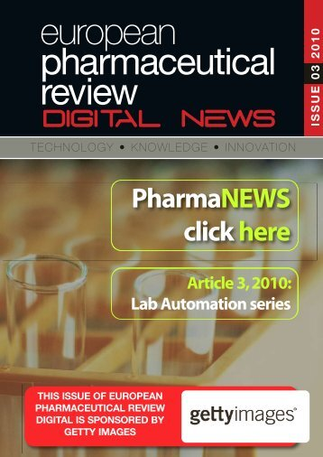 Article 3, 2010 - European Pharmaceutical Review
