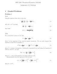 1 Graded Problems - FSU High Energy Physics