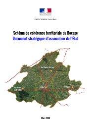 SCOT Bocage - Les services de l'État dans le Calvados