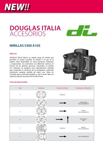 MIRILLAS DOUGLAS ITALIA S300 A105 - SAIDI