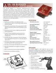 orientation / inertial sensor vn-100 rugged - ThomasNet