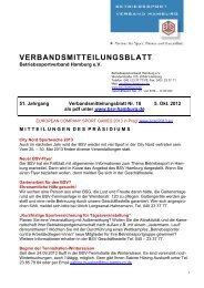 Einladung und Termine Werferserie 2012/2013 - BSV Hamburg