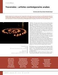 Traversées : artistes contemporains arabes - Art Absolument