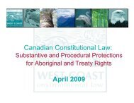 Canadian Constitutional Law: April 2009 - Circle of Blue