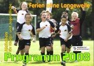 Programm 2008 - Stadt Wilhelmshaven