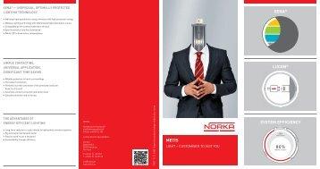 METIS XENA® LUCON® SYSTEM EFFICIENCY - norka-metis.de