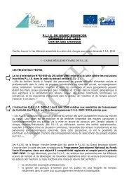 cahier des charges - Grand Besançon