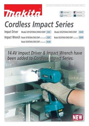 Cordless Impact Series - Makita