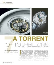 WT_2009_05: 10TH ANNIVERSARY: A TORRENT OF TOURBILLONS