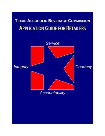 New Application Guide for Retailers - Texas Alcoholic Beverage ...