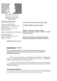 Le Ministre de la santé et de la protection sociale Le ... - ADIPh