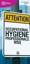 Occupational Hygiene - Workplace Safety and Health Council
