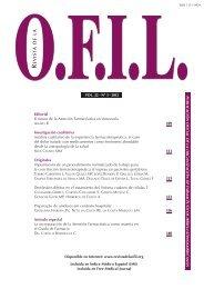 Selección del tratamiento farmacológico en el ... - Revista de la Ofil