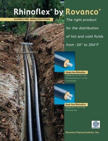 Rhinoflex® by Rovanco® - Rovanco Piping Systems