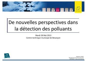 Les nouvelles perspectives en matière de détection - Ascomade