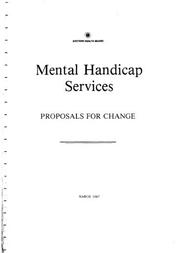 Mental Handicap Services