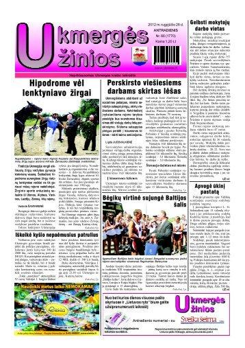 2012-08-28 - Ukmergės žinios