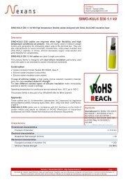 SIWO-KUL® D30 1.1 kV - Nexans