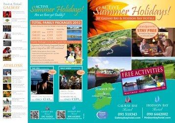 Summer Holidays! - Hodson Bay Hotel