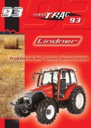 Produktdatenblatt Geotrac 93 - Lindner Traktoren