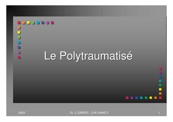 Le Polytraumatisé - COLMU
