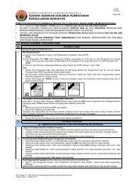 senarai semakan dokumen permohonan pengeluaran ... - KWSP