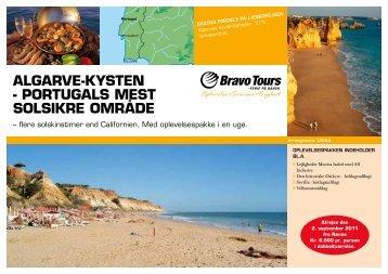 AlgArve-kysten - PortugAls mest solsikre område - Bornholms Tidende