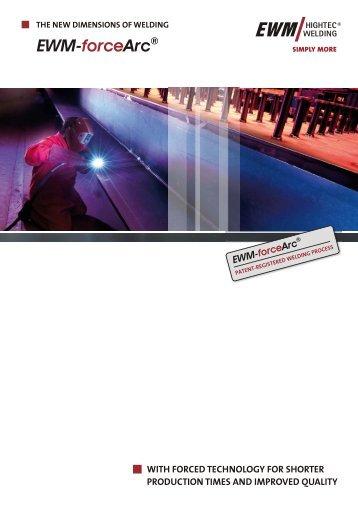 EWM forceArc brochure - Ewm-sales.co.uk