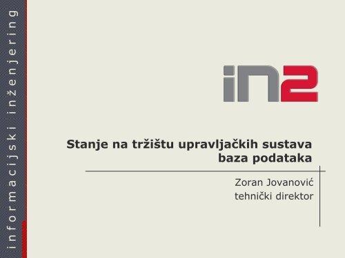405_Jovanović Stanje na tržištu DBMS.pdf - HrOUG